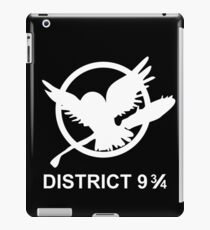 District 9 3/4 iPad Case/Skin
