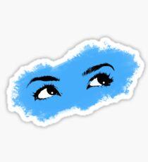 Art Eyes- Blue Sticker