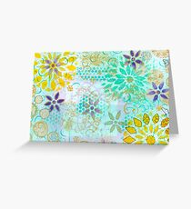 Layer Upon Layer # 1 Greeting Card