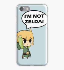 I'm Not Zelda iPhone Case/Skin