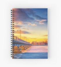 Golden Bridge to MIT Spiral Notebook