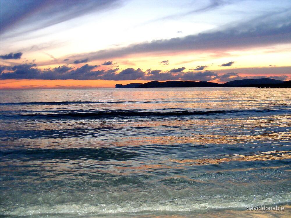 Algero sunset by daviddonabie