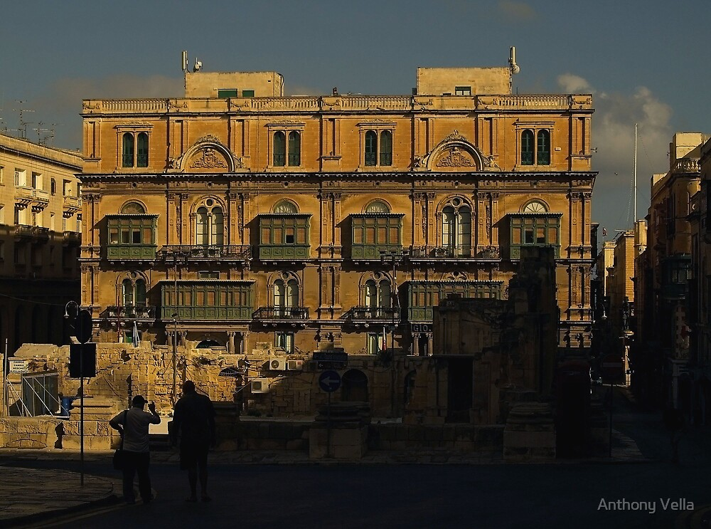 Office Block in Valletta by Anthony Vella
