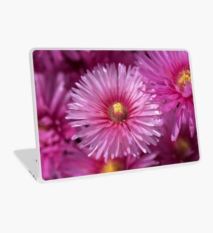 Pink Pigface Flowers Laptop Skin