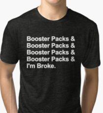 MTG - Magic the Gathering - yugioh- pokemon - booster pack  Tri-blend T-Shirt