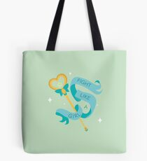 "League of legends - star guardian lulu staff ""Fight like a girl"" Tote Bag"