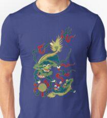 Asian Art Two Lions T-Shirt