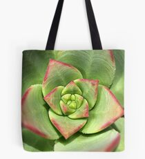 Hens And Chicks Succulent Tote Bag