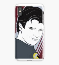 Nathan Fillion is Captain Hammer iPhone Case/Skin