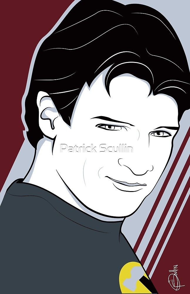 Nathan Fillion is Captain Hammer by Patrick Scullin