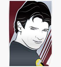 Nathan Fillion is Captain Hammer Poster