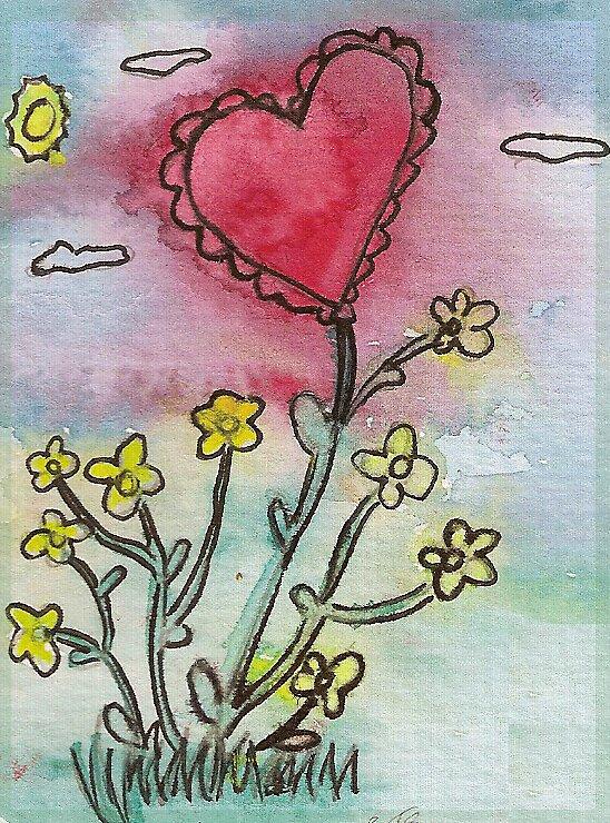 Growing Hearts by Sarah Bates