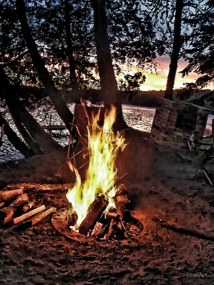 Fire Side by EbelArt