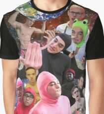 Filthy Frank Collage Graphic T-Shirt