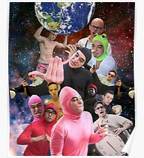 Filthy Frank Collage Poster