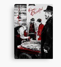 American horror drama television series Canvas Print