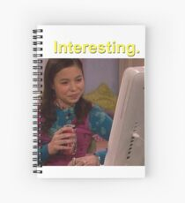 "Cuaderno de espiral MEGAN ""INTERESANTE"" DRAKE & JOSH (AMARILLO)"