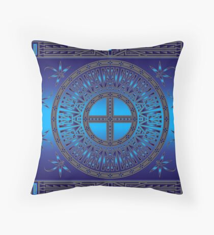 The Ancestors (Dragonfly) Throw Pillow