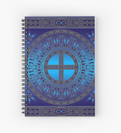 The Ancestors (Dragonfly) Spiral Notebook