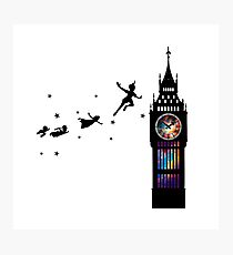 Peter Pan The Second Star Photographic Print