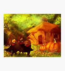 To Hagrid Photographic Print