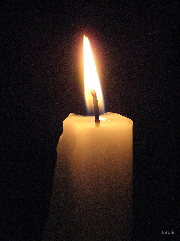 Candle light by dabak