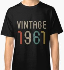 1961 56  years old birthday  Classic T-Shirt