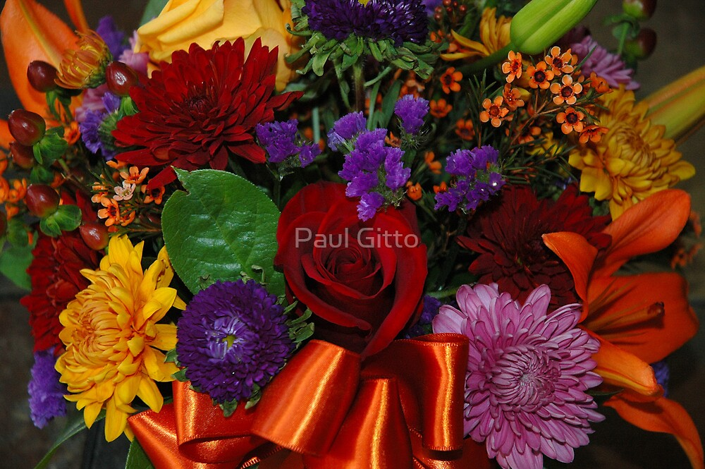 Floral Bouquet by Paul Gitto