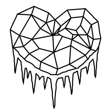 Heart of Ice (Black) by julianarnold