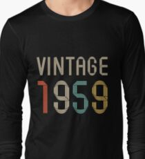 1959 58  years old birthday  T-Shirt