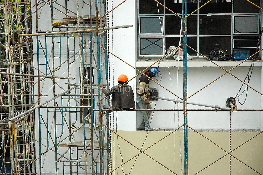building under construction by bayu harsa