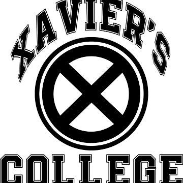 Xavier's Black & White by justanerd