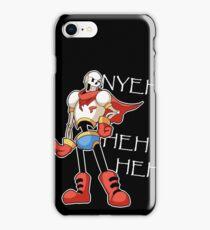 Nyeh Heh Heh Heh iPhone Case/Skin