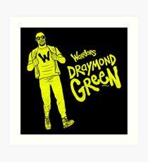 Green - Warriors Art Print