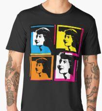 SYLVIA PLATH - WARHOL-STYLE 4-UP COLLAGE ILLUSTRATION Men's Premium T-Shirt
