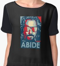 the dude abide Women's Chiffon Top