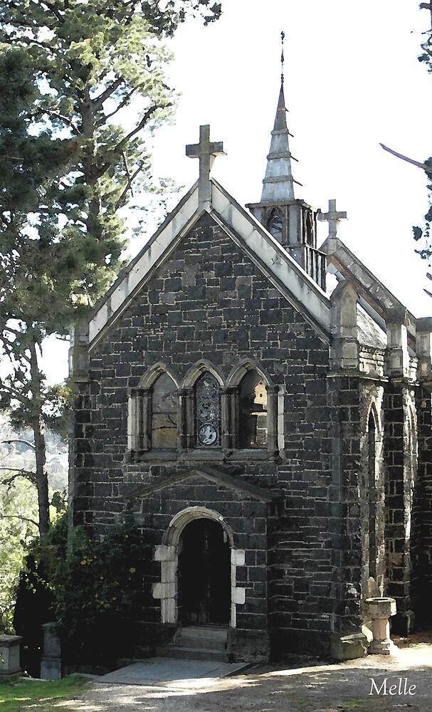 Church at Monstulvat by Melle