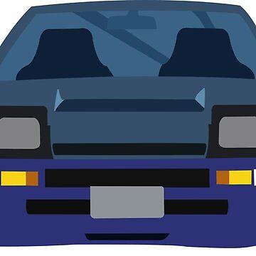 Toyota AE86 by brick86