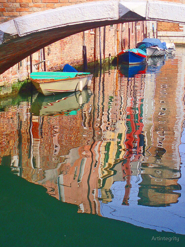 Canal reflections - Venice by Artintegrity
