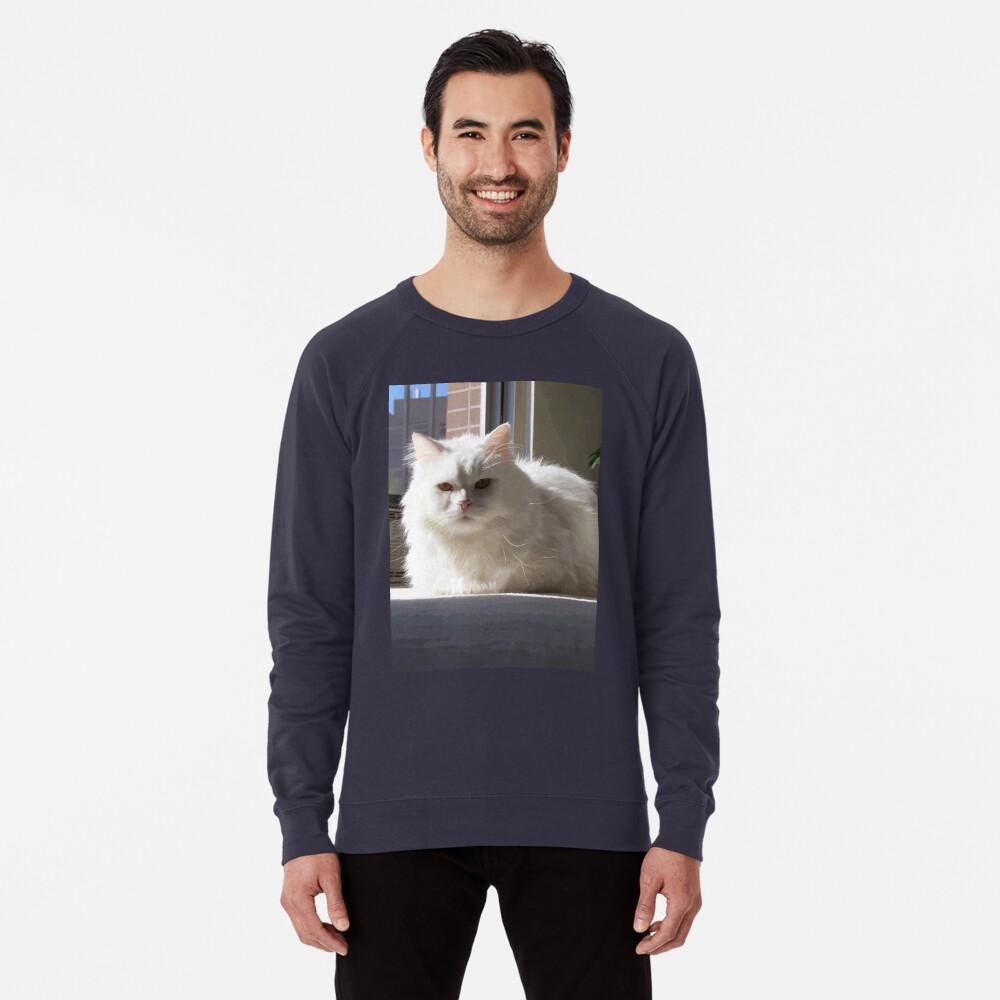 Cat In The House Lightweight Sweatshirt