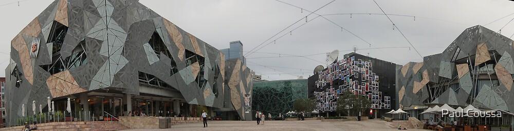 Federation Square Melbourne by Paul Coussa