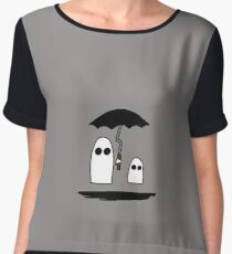 Cute Ghosts Women's Chiffon Top