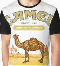 camel vintage cigarettes Graphic T-Shirt