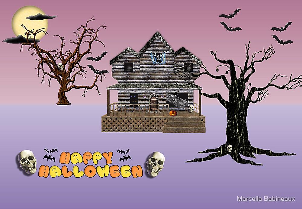 Happy Halloween by Marcella Babineaux