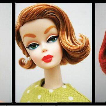 Retro Doll Photo Strip by cherrypiez