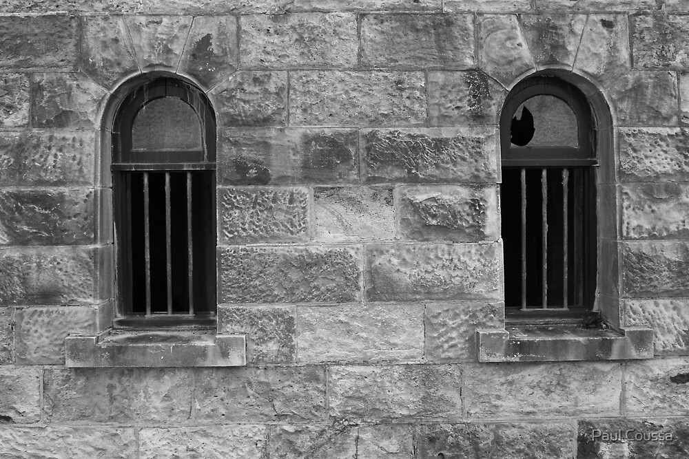 Jailhouse Windows by Paul Coussa