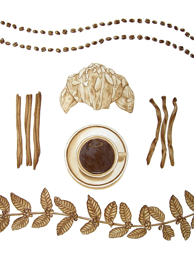 Coffee as Art by joeyartist