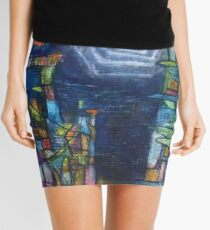 The moon of the identity Mini Skirt