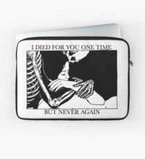 Ich starb einmal für dich, aber nie wieder Laptoptasche