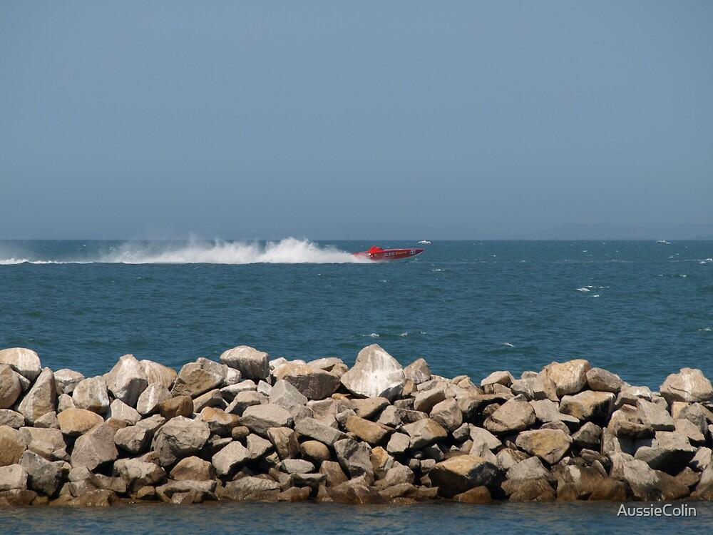Power Boat Racing by Colin Van Der Heide